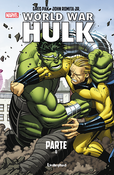 World War Hulk 6 Unlimited