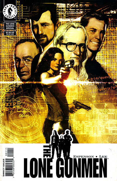 The Lone Gunmen - uno de tantos cómics basado en The X-Files