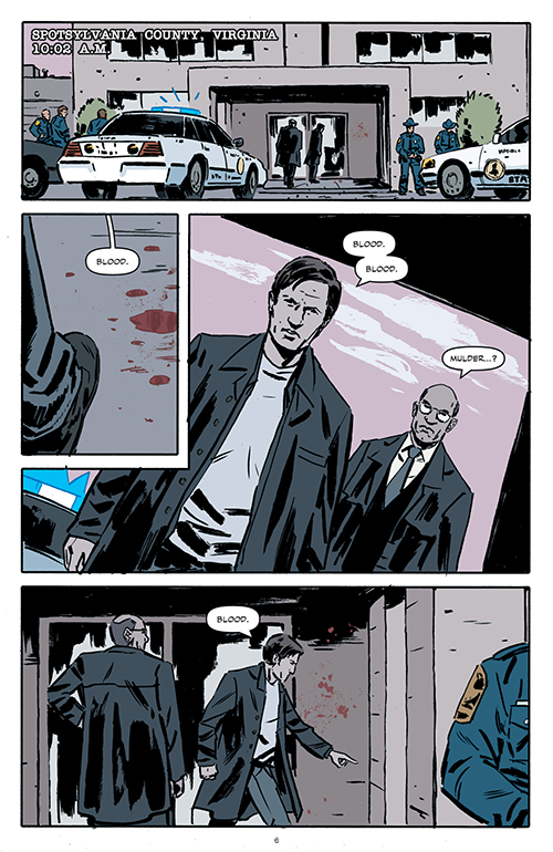Interiores de los cómics The X-Files - Season 10