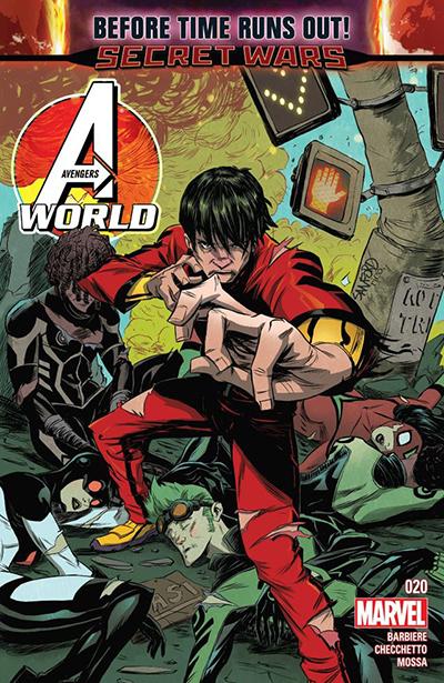 Avengers World 20