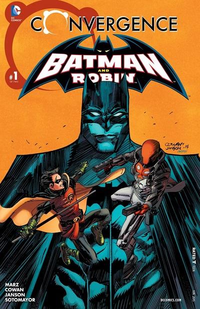 Convergence - Batman y Robin 1
