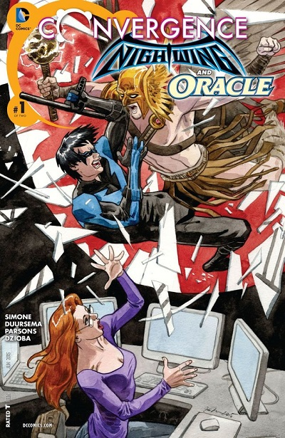 Convergence - Nightwing and Oracle 1