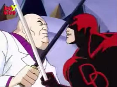 Daredevil en Spiderman TAS