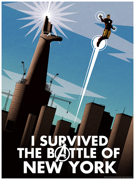 I survived the battle of New York