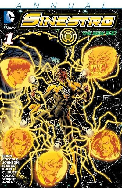 Sinestro Anual 01