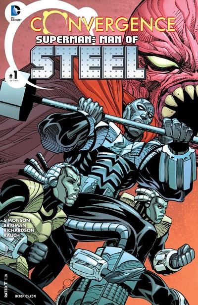 Superman Man of the Steel 01
