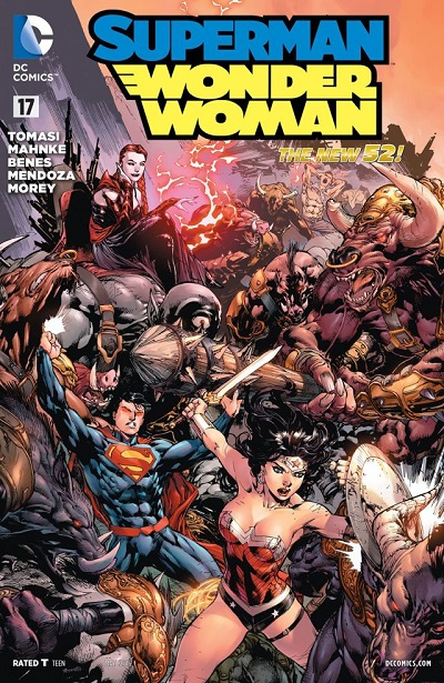 Superman - Wonder Woman 17