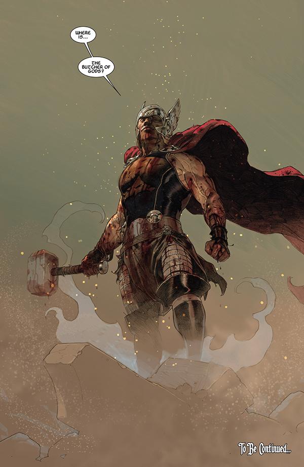 Esad Ribic nos convence de que Thor es el mejor dios que pueda existir