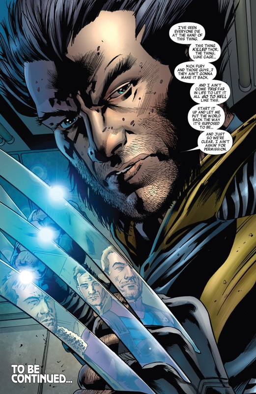 Age of Ultron Wolverine