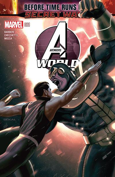 Avengers World 21