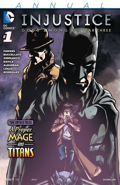 Injustice Año 3 Annual 01
