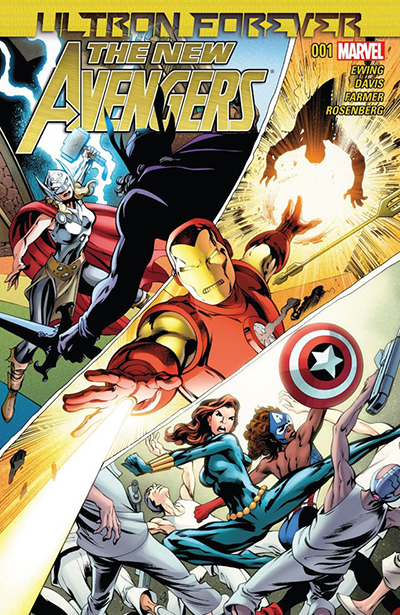New Avengers - Ultron Forever 1