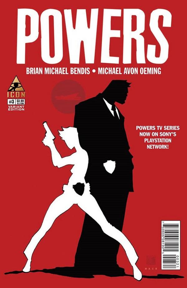 Powers #3 (Mack Cover)