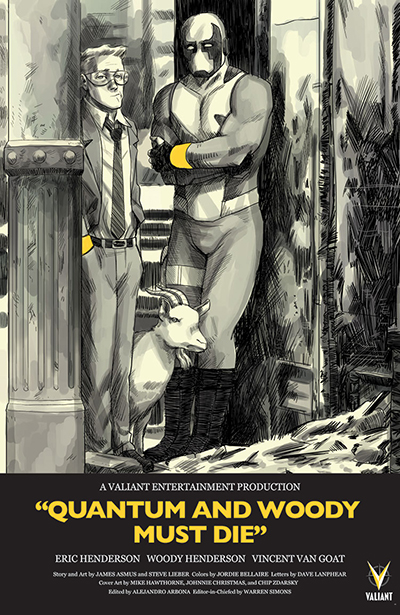 Quantum & Woody Must Die 1 - Zdarsky variant