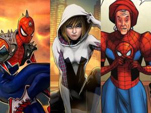 Spider Punk, Spider Gwen y ¿Tía Spider May?