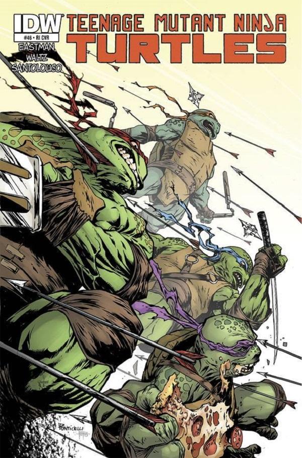 Teenage Mutant Ninja Turtles #46