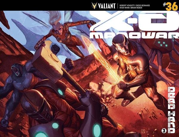 X-O Manowar #36