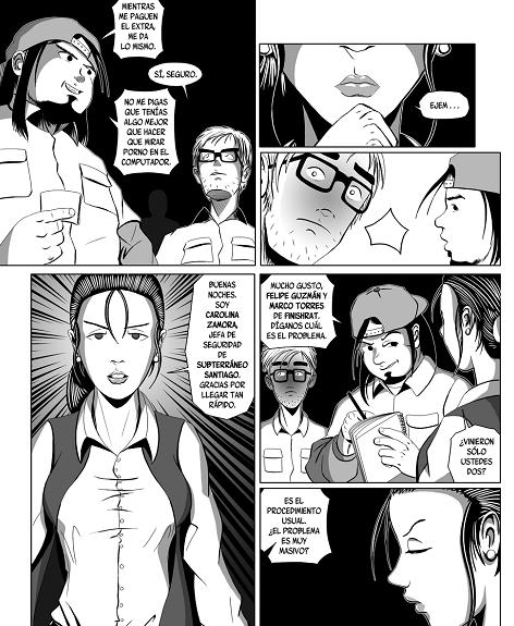 El gran Guaren - personajes
