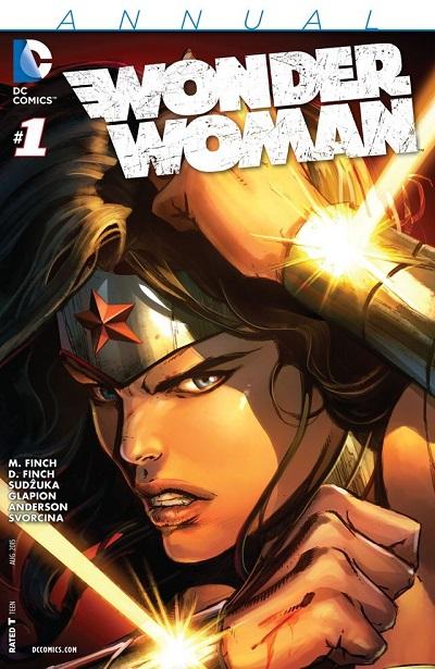 Wonder Woman Annual 01