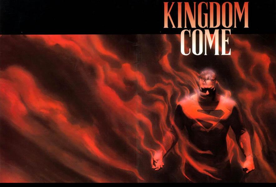 Portada completa original de Kingdom Come #4