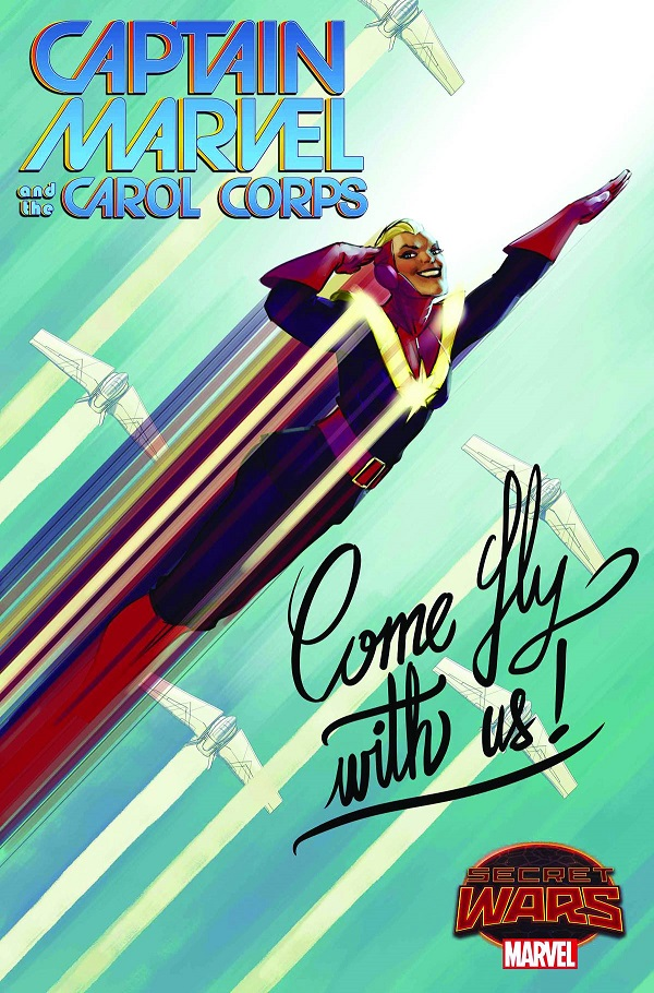 Captain Marvel and the Carol Corps #2 - David Lopez