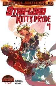 Star-Lord and Kitty Pryde 001