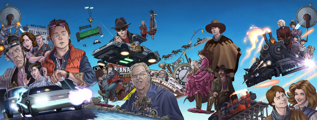 back-to-the-future-1-4-covers-by-Dan-Schoening-91c86