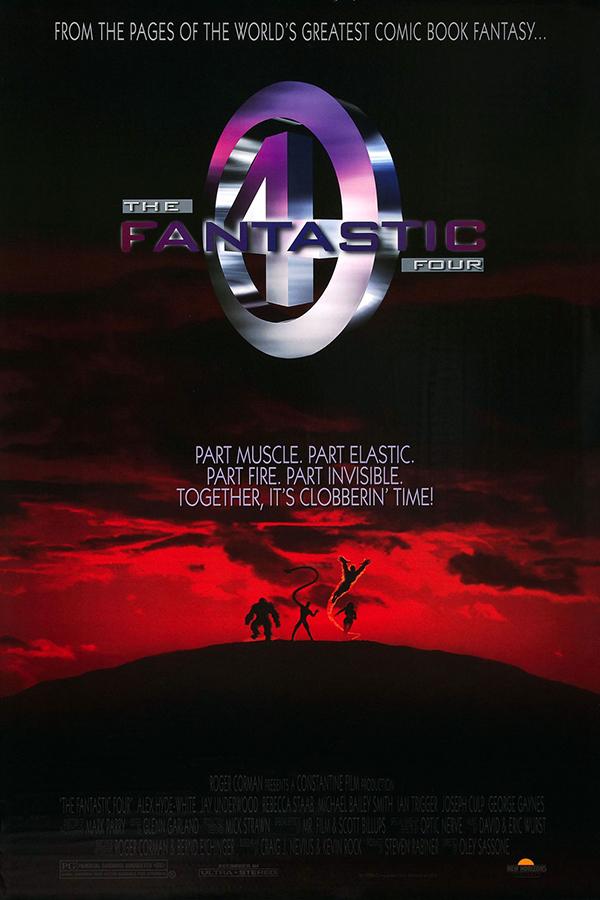 Fantastic Four (1994) Poster