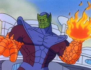 Fantastic Four TAS 1994 Super Skrull