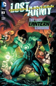 Green Lantern - Lost Army #003