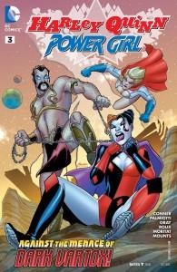 Harley Quinn & Powergirl #003