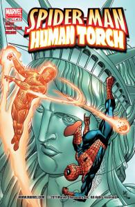 Spider-Man - Human Torch 001