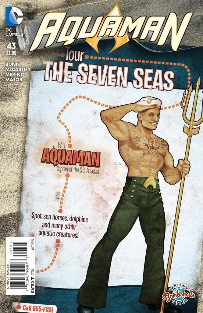 aquaman 43 bombshells cover