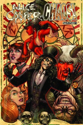 Alice Cooper vs Chaos #1 (Chin Cover)