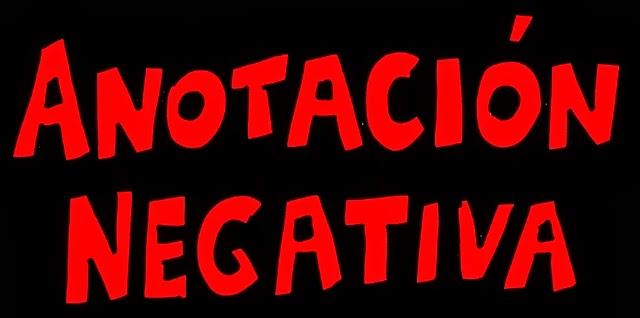 Anotación Negativa