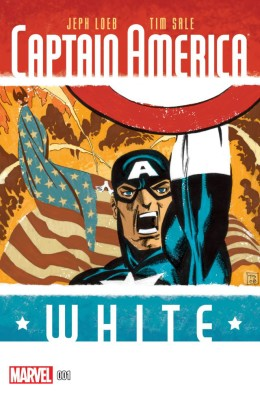 Captain America - White 001