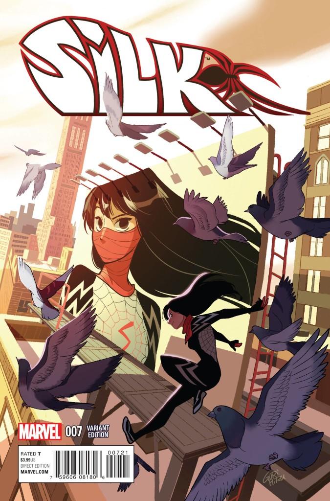 Silk #7 (Gurihiru Manga Cover)