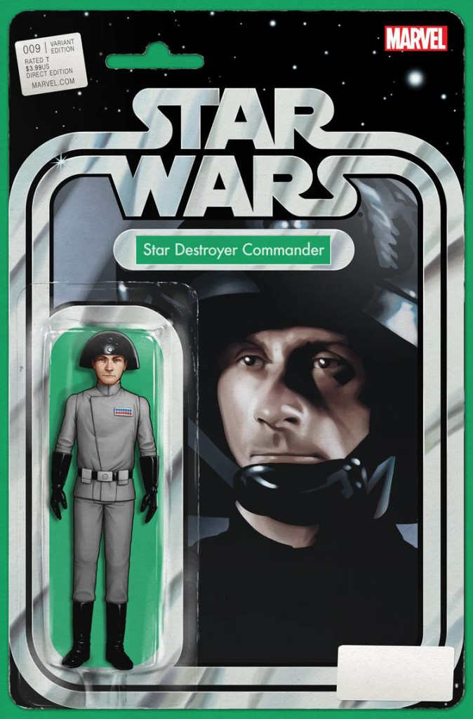 Star Wars #9 (Action Figure Cover)