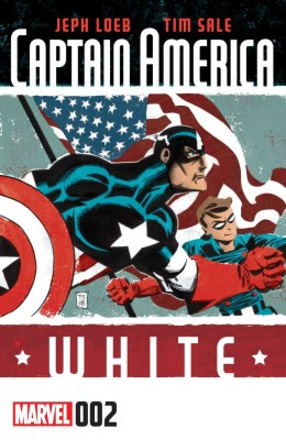 Captain America - White 002