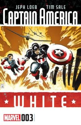 Captain America - White 003