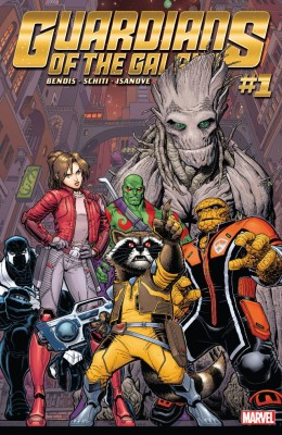 Guardians of the Galaxy 001