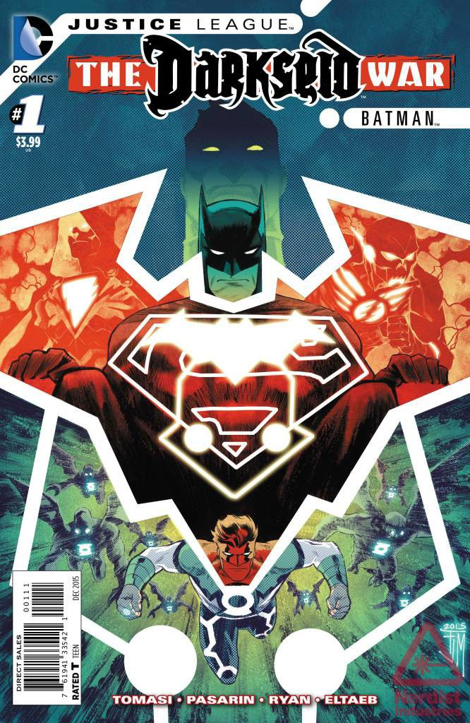 JUSTICE LEAGUE GODS AND MEN BATMAN #1