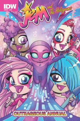 Jem and The Holograms Outrageous Annual #1