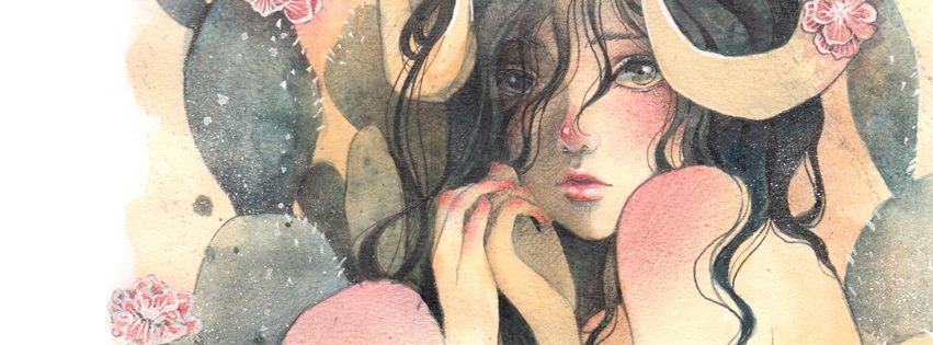 Detalle de Aries, por Victoria guerreo - Siy