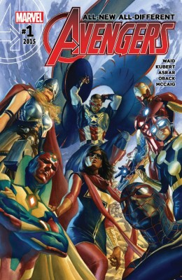 All-New All-Different Avengers 001