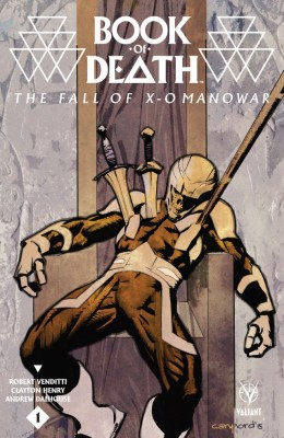 Book of Death - The Fall of X-O Manowar 001
