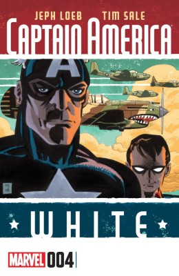 Captain America - White 004