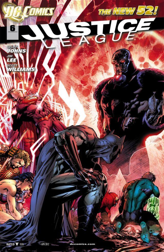 Justice league v2 006 cuarto mundo for Puerta wonder woman