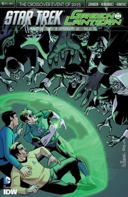 Star Trek Green Lantern 005