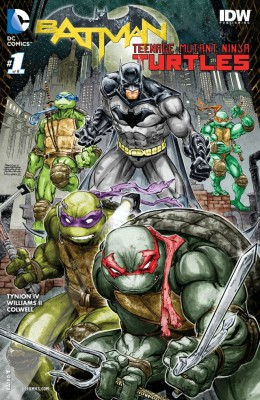 Batman Teenage Mutant Ninja Turtles 001